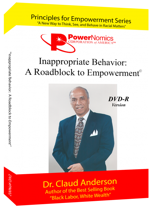 Powernomics DVD Red – Inappropriate Behavior